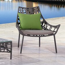 Keen Lounge Chair with Cushion