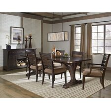 Crystal Ridge 7 Piece Trestle Dining Set