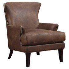 Nola Faux Leather Arm Chair