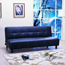 <strong>Emerald Home Furnishings</strong> Deco Fabric Sleeper Sofa
