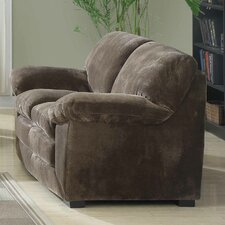 <strong>Emerald Home Furnishings</strong> Devon Polyester Pillow Top Loveseat