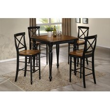 <strong>Emerald Home Furnishings</strong> Gatlinburg 5 Piece Pub Table Set