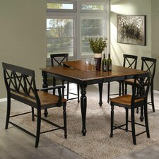 <strong>Emerald Home Furnishings</strong> Gatlinburg Dining Table