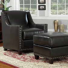 <strong>Emerald Home Furnishings</strong> Baron Chair and Ottoman
