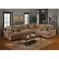 <strong>Emerald Home Furnishings</strong> Lemoore Chenille Sectional