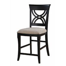 <strong>Emerald Home Furnishings</strong> Brighton Bar Stool with Cushion (Set of 2)