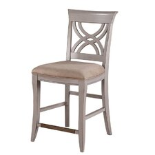"Brighton 24"" Bar Stool with Cushion (Set of 2)"