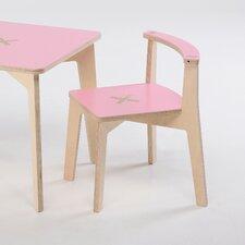 "TiScrivo Tisch ""Bambino Legno""  in Natur / Pink"