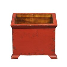 Asian Antique French Square Planter