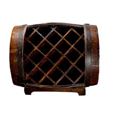 <strong>Antique Revival</strong> 11 Bottle Barrel Wine Rack
