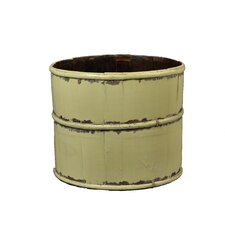 Vintage Round Tofu Bucket