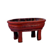 Vintage Oval Four Legged Basin