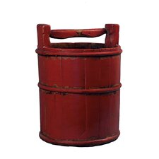<strong>Antique Revival</strong> Vintage Wooden Soy Bucket