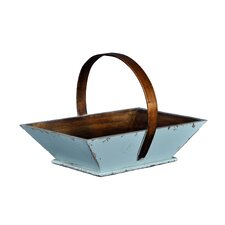 Asian Apple Fruit Basket with Handle