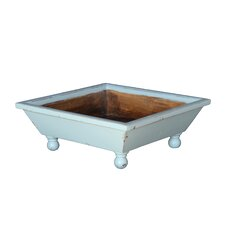French Country-Style Square Planter