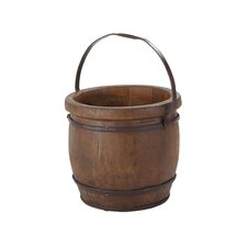 Vintage Barrel Shaped Bucket