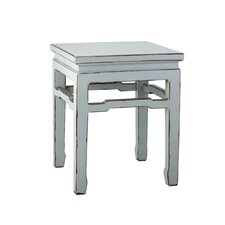 <strong>Antique Revival</strong> Chinese Square Side Table