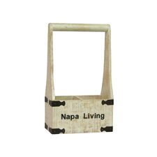 <strong>Antique Revival</strong> Napa Living 2 Bottle Wine Holder