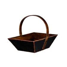 Tangerine Fruit Basket with Handle