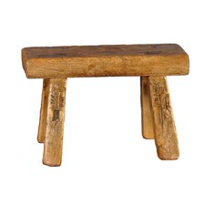 <strong>Antique Revival</strong> Vintage Rectangular Top Children's Bench