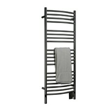 Jeeves Wall Mount Electric D Curved Towel Warmer