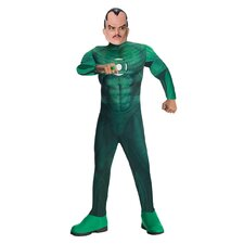 Green Lantern Deluxe Muscle Chest Sinestro Child Costume