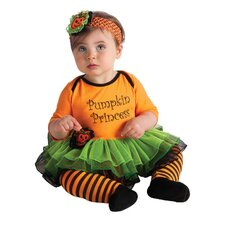 My First Halloween Pumpkin Princess Costume