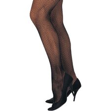 Ladies Fishnet Tights One Size Pantyhose Costume