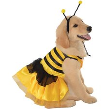 Bumblebee Dress Dog Costume