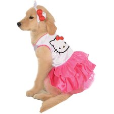 Hello Kitty Dress Dog Costume