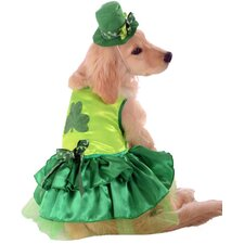 Irish Girl Dog Costume