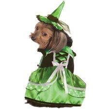 Neon LED Witch Dog Costume