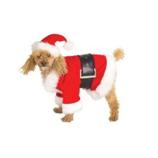 Santaclaus Dog Costume