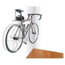 Monet Single Bike Rack with Metal Shelf