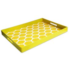 Garden Lattice Rectangular Serving Tray