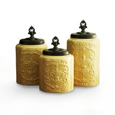 3-Piece Canister Set