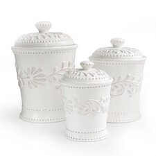 3 Piece Bianca Canister Set