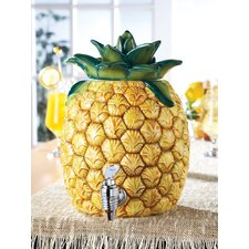 Ceramic Pineapple Beverage Dispenser