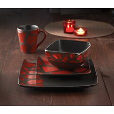 Safari Giraffe 16 Piece Dinnerware Set