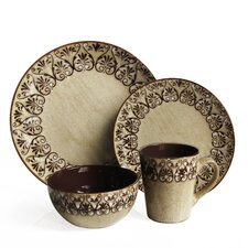 Mehndi 16 Piece Dinnerware Set
