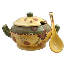 Bohemian Autumn Soup Tureen