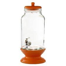1.5 Gallon Glass Beverage Dispenser