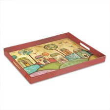Day Dreams 'Village' Rectangular Serving Tray