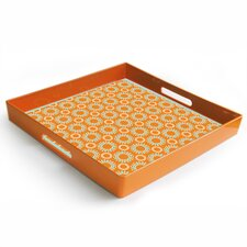 Garden Party Square Serving Tray