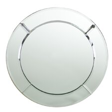 Mirror Round Charger Plate (Set of 2)