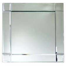 Mirror Square Charger Plate (Set of 2)