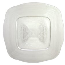 "13.5"" Reflex Glass Charger Plate (Set of 2)"