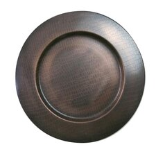 "13"" Stainless Steel Charger Plate"