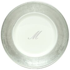 "13"" Monogram Charger Plate (Set of 8)"