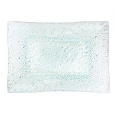 """Aqua 17.5"""" Rectangular Platter"""